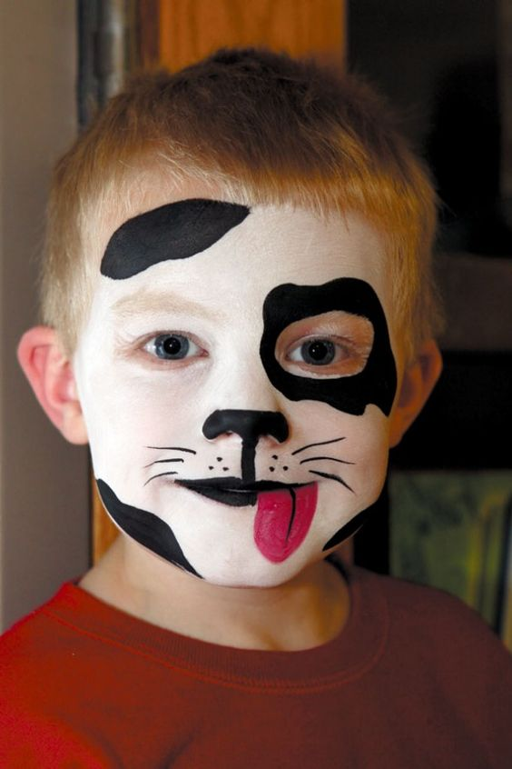 Puppy Face Painting.