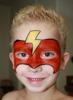 Flash Face Paint.