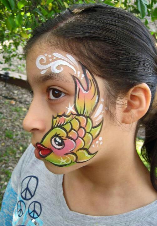 Easy Snake Face Painting