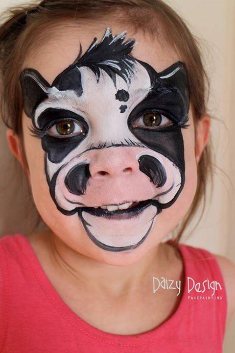 Cow Face Paint.