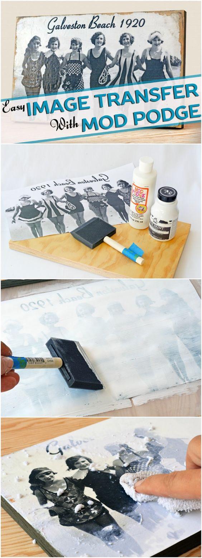 Aprenda a transferir fotos para madeira em três etapas simples.
