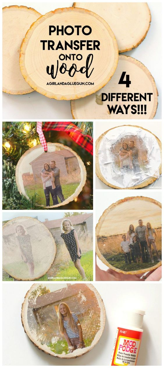 Transferência de fotos para madeira em 4 maneiras diferentes.