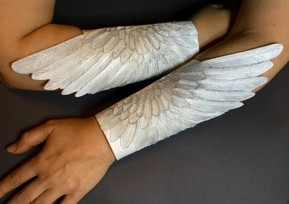 Angel Wings Bracers.