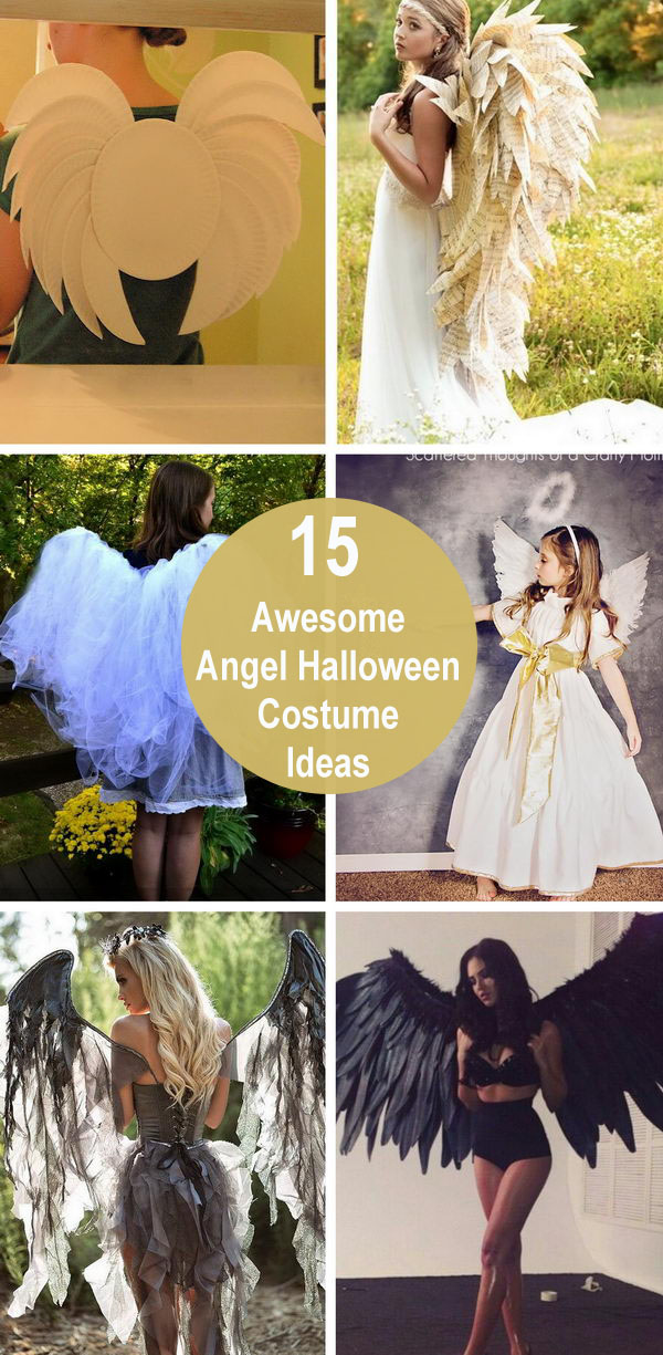15+ Awesome Angel Halloween Costume Ideas.