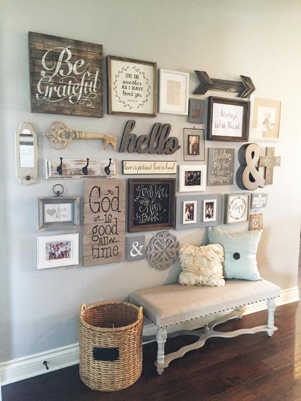 DIY Gallery Wall.