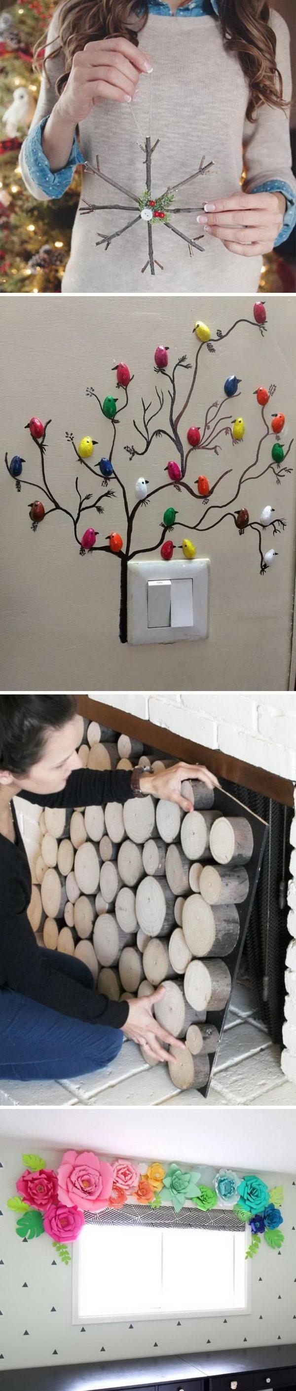 35 Cool DIY Home Decor Ideas.