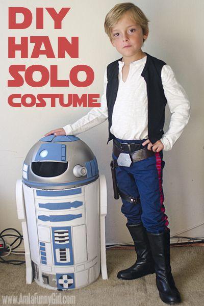 DIY Han Solo Costume.