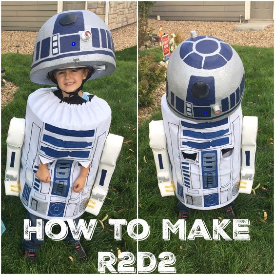 R2d2 Costume Diy 20+ DIY Star Wars Cost...