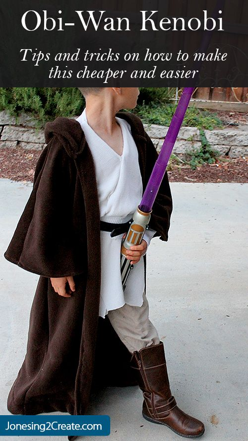 Jedi Obi Wan Kenobi Costume.