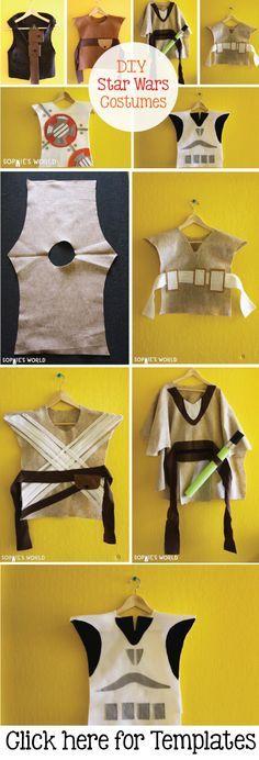 No Sew Star Wars Costume.
