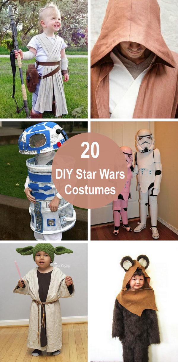 20+ DIY Star Wars Costumes.