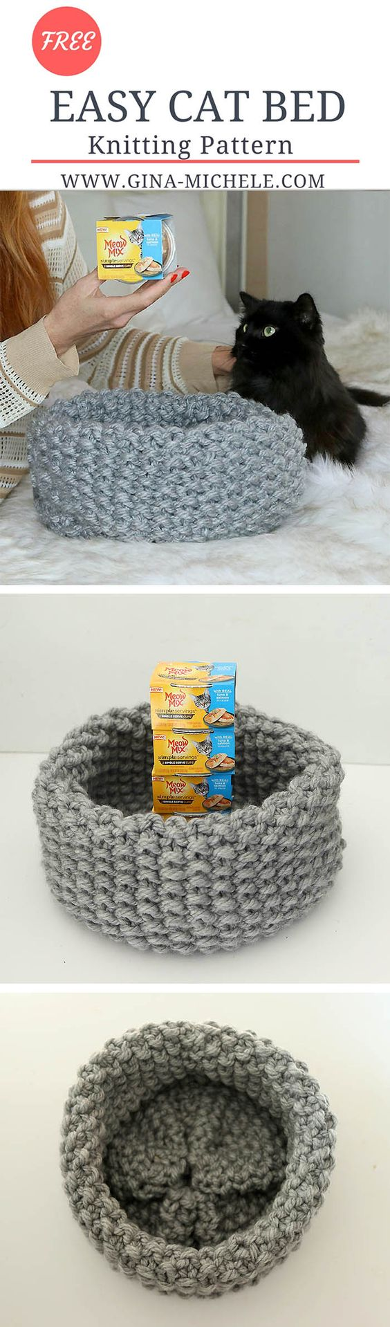 15+ Crochet Pet Bed Ideas