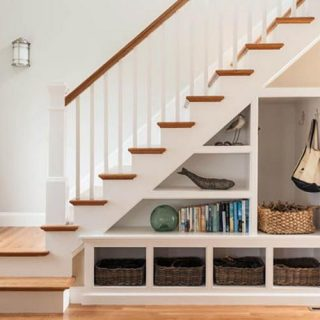 25 Ways To Make Use Of The Space Under Stairs