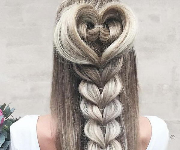 Valentines Hairstyles: 15+ Great Valentine's Day Hairstyles For Girls
