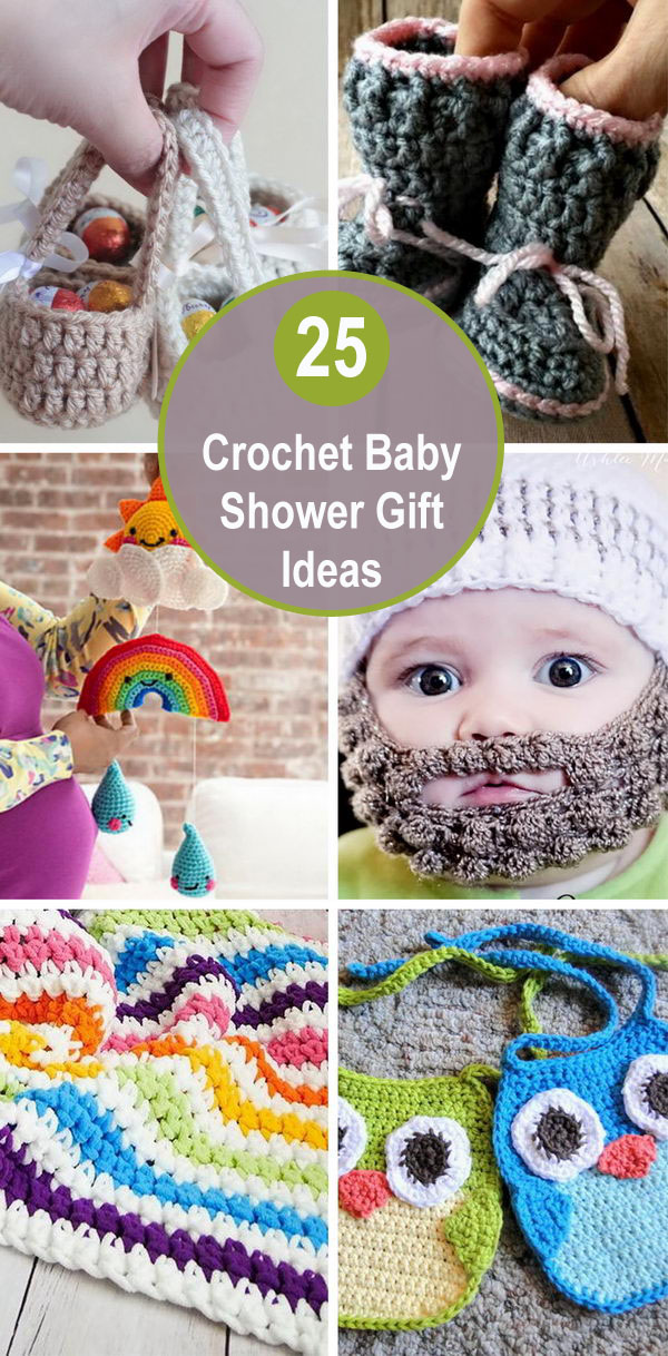 25 Crochet Baby Shower Gift Ideas.