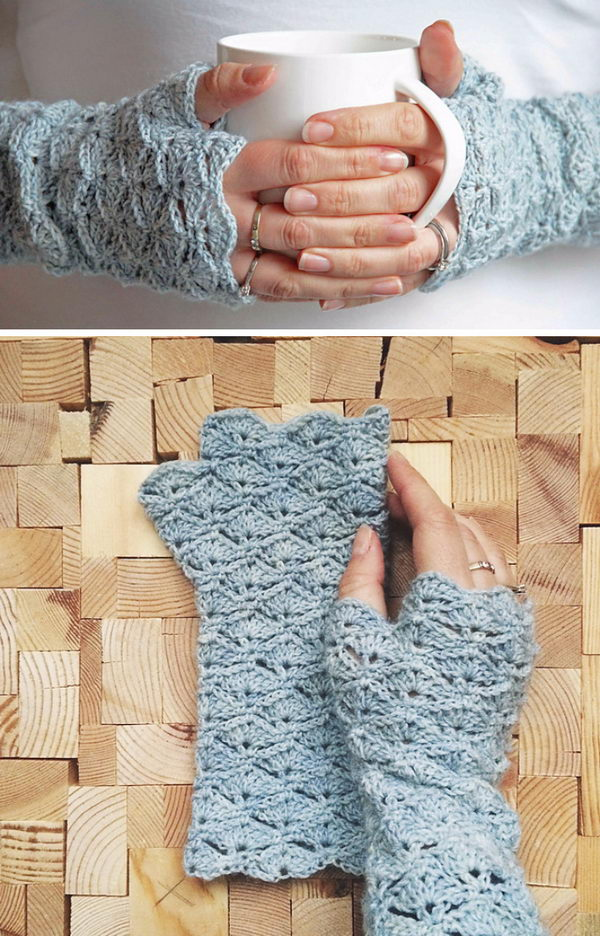 Crochet Fingerless Glove Pattern Gallery Knitting Patterns Free