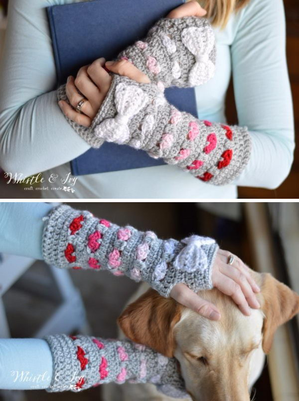Puppy Love Arm Warmers.