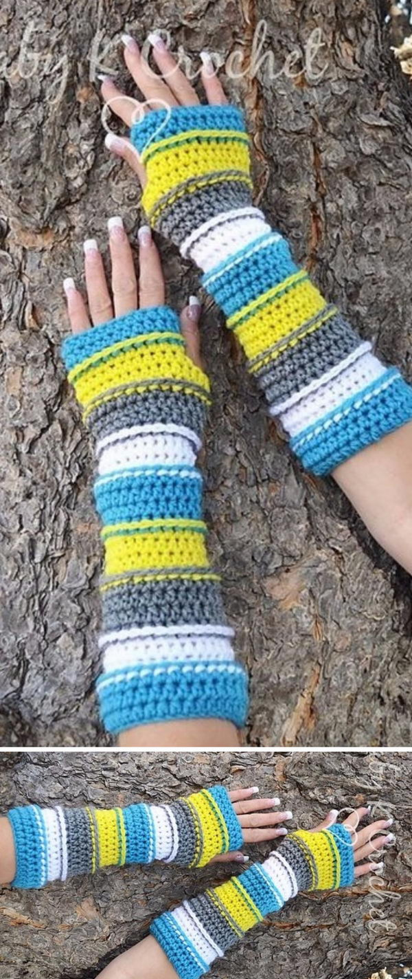 Punky's Arm Warmers.