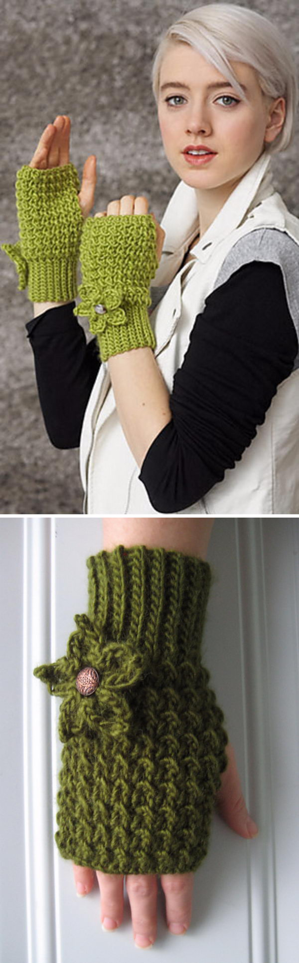 Mossy Mitts.