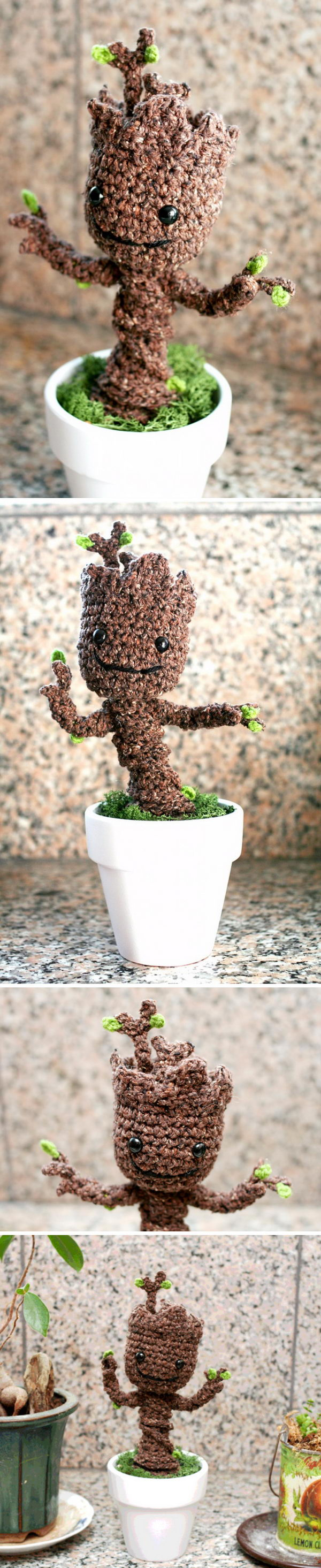 Potted Baby Groot.