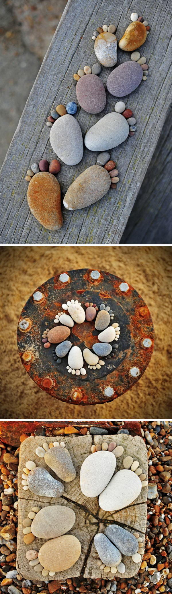 25 Diy Home Decor Ideas Using Pebbles And River Rocks
