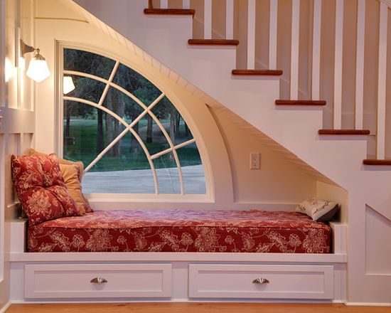 Reading Nook With a Window.