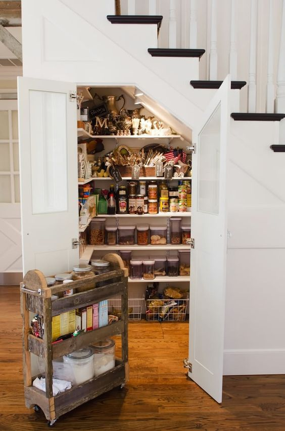 Under the Stairs Pantry.