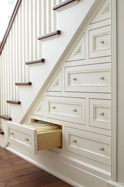 Built In Drawers.