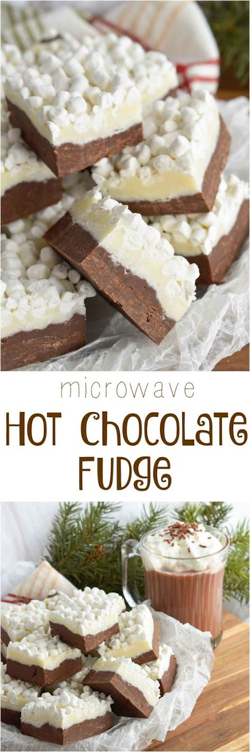 Hot Chocolate Fudge Recipe.