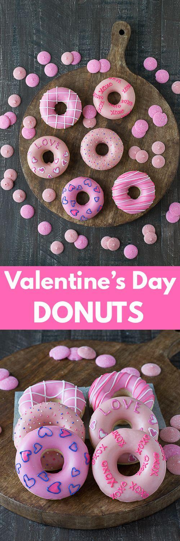 Valentine's Day Donuts.