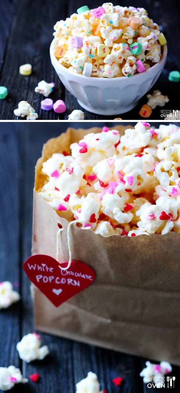 Valentine's Popcorn.
