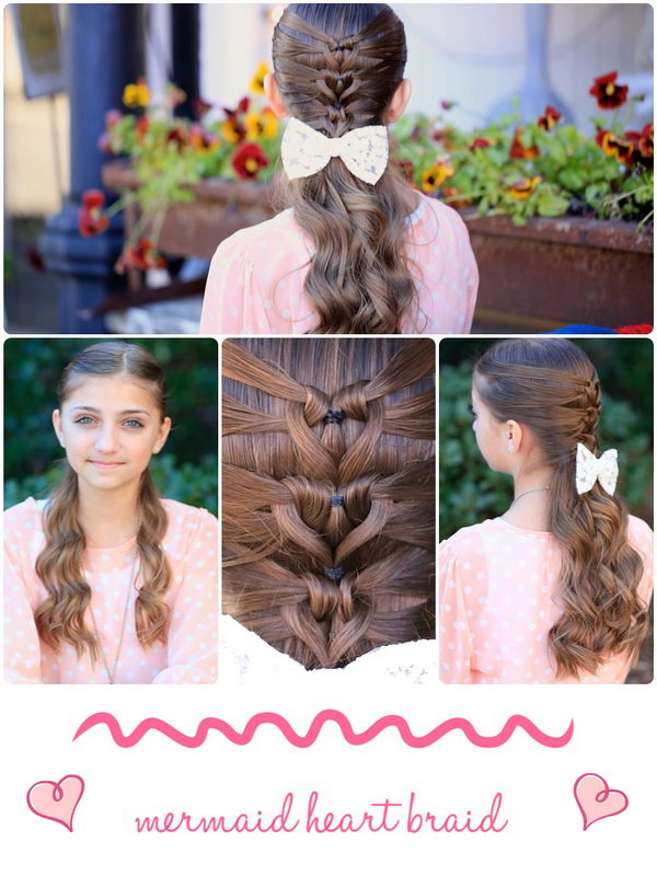 Mermaid Heart Braid.