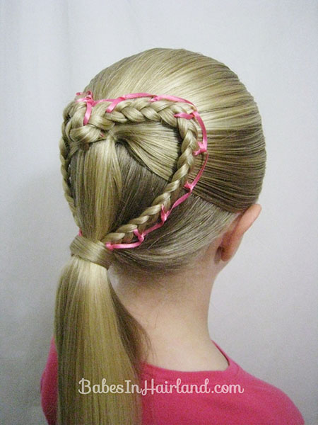 15 Great Valentines Day Hairstyles For Girls