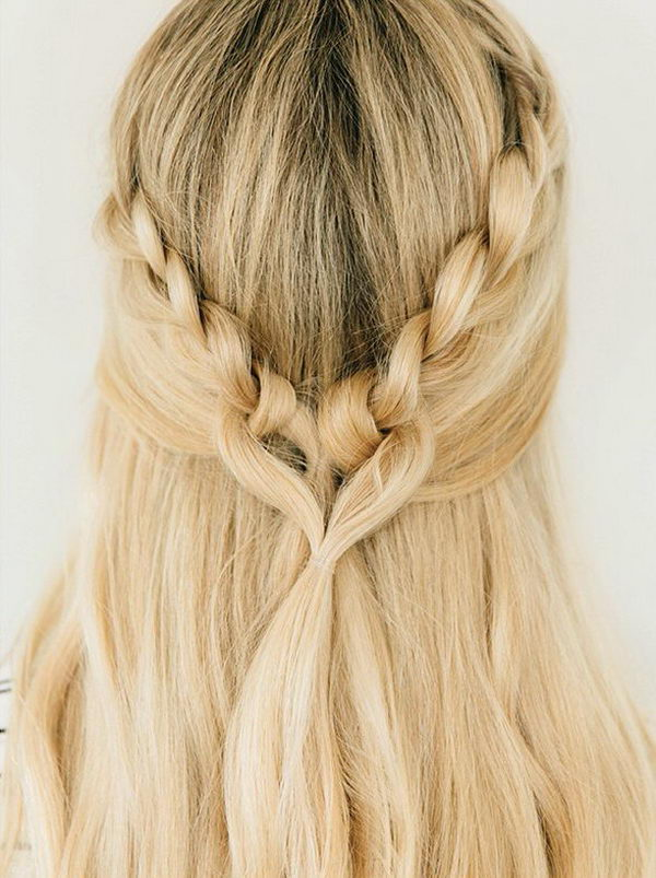 Cross My Heart Braid.