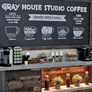 15+ Cool DIY Coffee Station Ideas