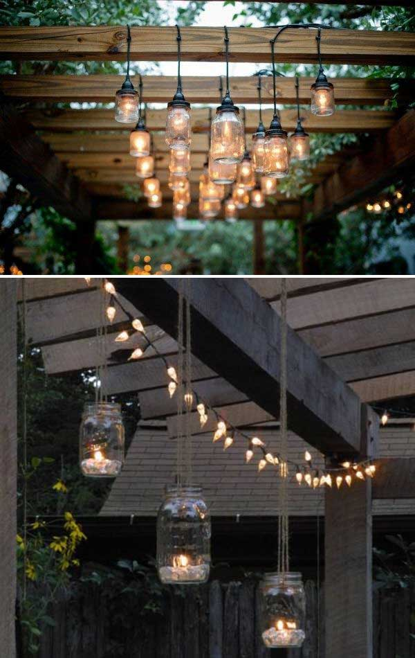 20 Diy Backyard Lighting Ideas