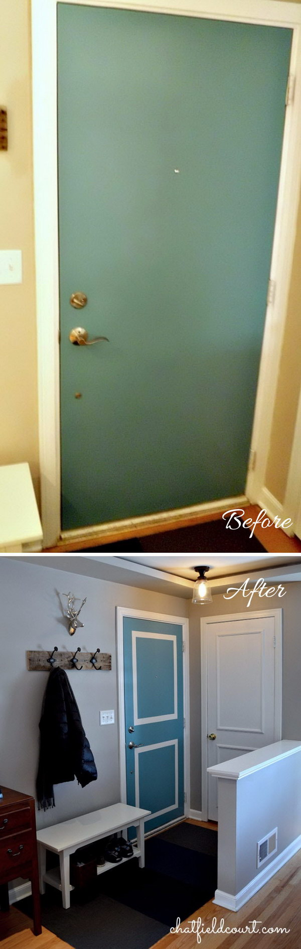 Brighten the Entryway with Painting.