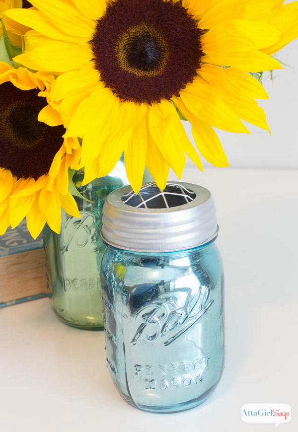 Mirrored Mason Jar.