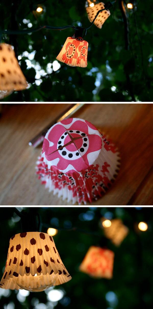 Cupcake Lights.