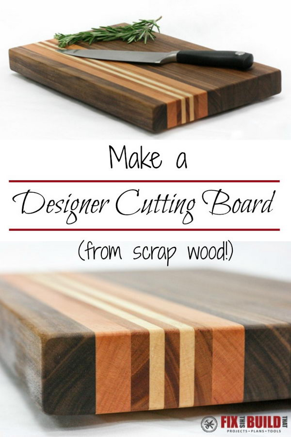 Designer Cutting Board.